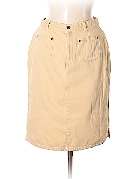 Liz Claiborne Denim Skirt Size 8 (Petite)