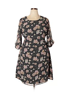 Ryan Wythe Casual Dress Size 1X (Plus)