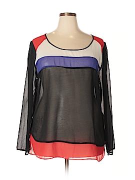 Umgee Long Sleeve Blouse Size 2X (Plus)