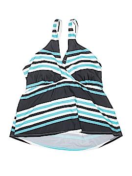 Cactus Swimsuit Top Size 1X (Plus)