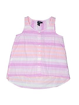 Gap Kids Outlet Sleeveless Button-Down Shirt Size X-Large (Kids)