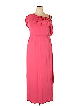 Bobeau Casual Dress Size 1X (Plus)