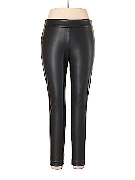 Ann Taylor Faux Leather Pants Size 10