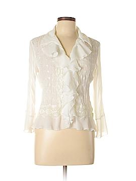 Allison Taylor 3/4 Sleeve Blouse Size M (Petite)