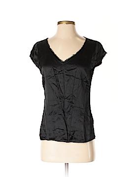 Tahari by ASL Short Sleeve Silk Top Size S