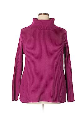 SONOMA life + style Turtleneck Sweater Size 3X (Plus)
