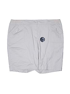 Karen Scott Khaki Shorts Size 20 (Plus)