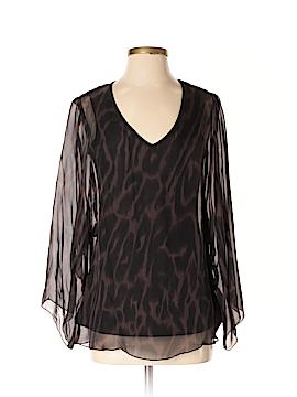 Drew Long Sleeve Silk Top Size M