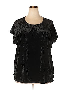 Bobeau Short Sleeve Top Size 1X (Plus)