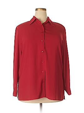 Ashley Stewart Long Sleeve Blouse Size 16W