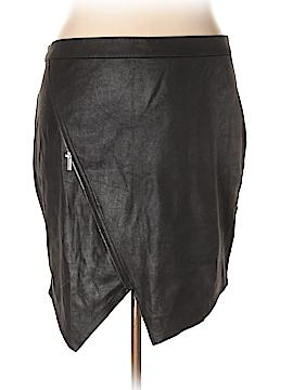 JunaRose Faux Leather Skirt Size 2X (Plus)