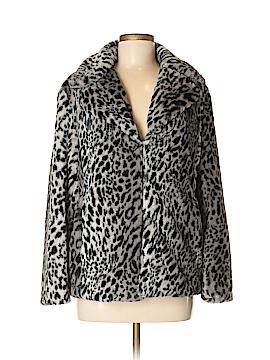 Ellen Tracy Faux Fur Jacket Size M