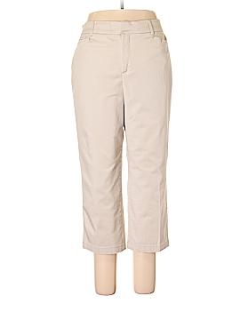 JM Collection Khakis Size 14W