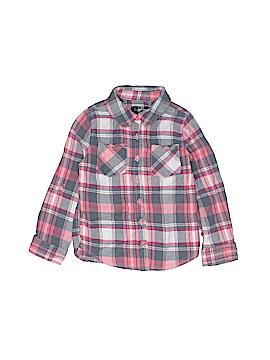 Chillipop Long Sleeve Button-Down Shirt Size 5 - 6