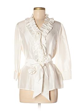 Harold's 3/4 Sleeve Silk Top Size M
