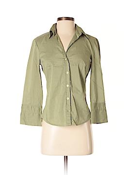 Jacqui-E 3/4 Sleeve Button-Down Shirt Size 6