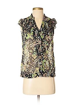 Zinc Short Sleeve Blouse Size S