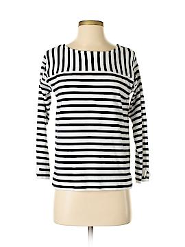 Joan Vass Long Sleeve Top Size 4 (0)