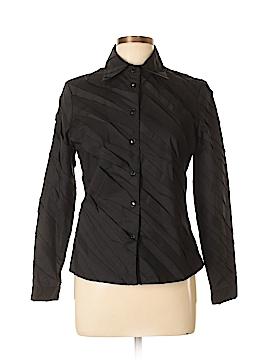 Samuel Dong Long Sleeve Button-Down Shirt Size M