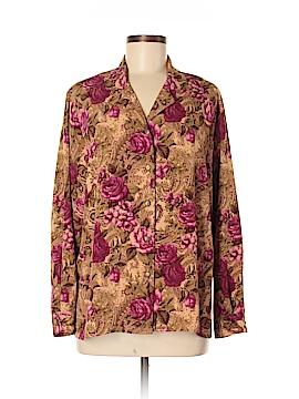 BonWorth Long Sleeve Blouse Size M (Petite)