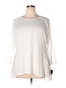 Alfani 3/4 Sleeve Top Size 1X (Plus)