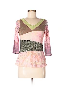 Gypsy Daisy 3/4 Sleeve Top Size M