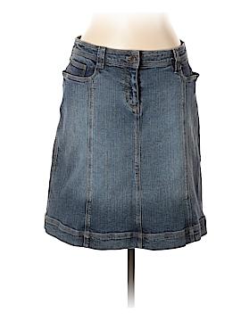 INC International Concepts Denim Skirt Size 12 (Petite)