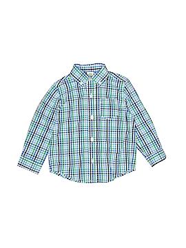 Little Me Long Sleeve Button-Down Shirt Size 24 mo