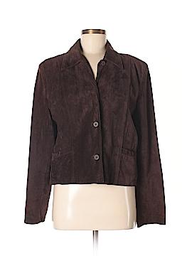 Ann Taylor Leather Jacket Size L
