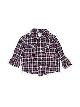 Gymboree Long Sleeve Button-Down Shirt Size 6-12 mo