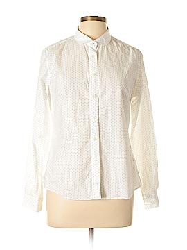 Savile Row Long Sleeve Button-Down Shirt Size 12