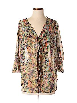 KatWalk 3/4 Sleeve Blouse Size M