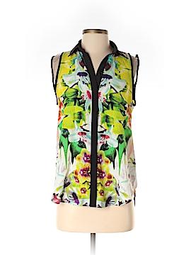 Prabal Gurung for Target Sleeveless Button-Down Shirt Size S