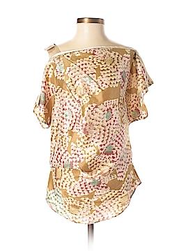 Schumacher Short Sleeve Silk Top Size XS