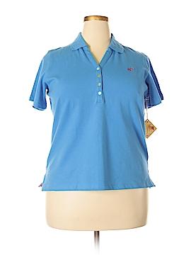 Caribbean Joe Short Sleeve Polo Size 1X (Plus)