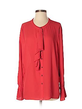 Eva Longoria Long Sleeve Blouse Size XL