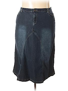 DressBarn Denim Skirt Size 20 (Plus)