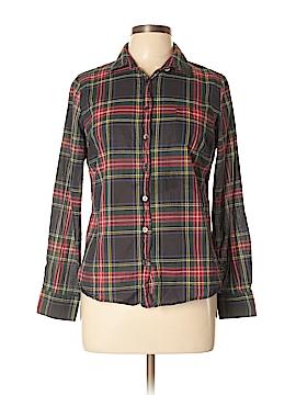 J. Crew Factory Store Long Sleeve Button-Down Shirt Size L (Petite)