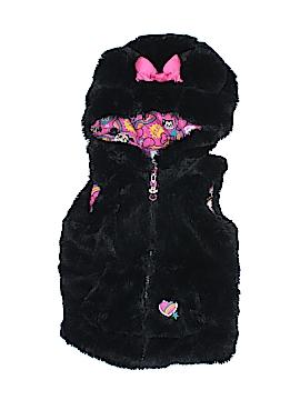 Disney Store Faux Fur Vest Size 4