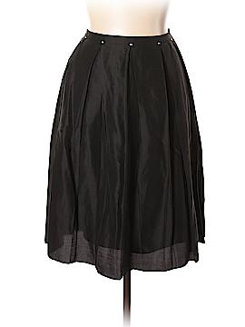 Max Studio Silk Skirt Size 12