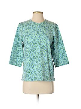 Denim & Co 3/4 Sleeve T-Shirt Size S