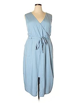 Modamix By Brandon Thomas Casual Dress Size 18W (Plus)