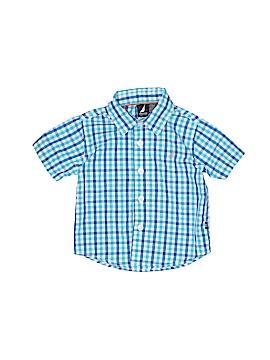 Nautica Short Sleeve Button-Down Shirt Size 6-9 mo