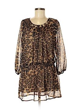 Pretty Angel 3/4 Sleeve Silk Top Size M