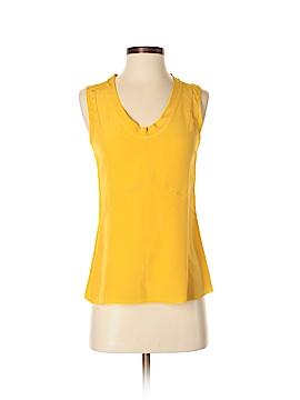 Tory Burch Sleeveless Silk Top Size 0