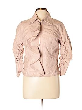 Joie Faux Leather Jacket Size L