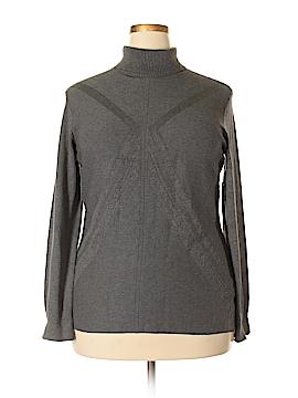 Tribal Turtleneck Sweater Size XL