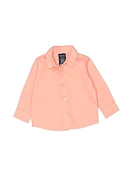 Nautica Long Sleeve Button-Down Shirt Size 6-9 mo