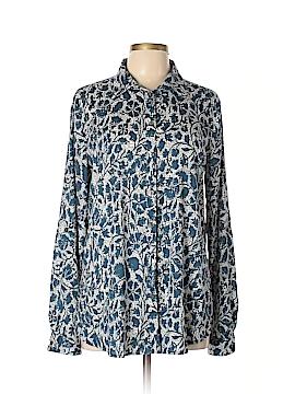 Ann Taylor Long Sleeve Blouse Size L (Tall)