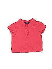 Little Me Boys Short Sleeve Polo Size 12 mo